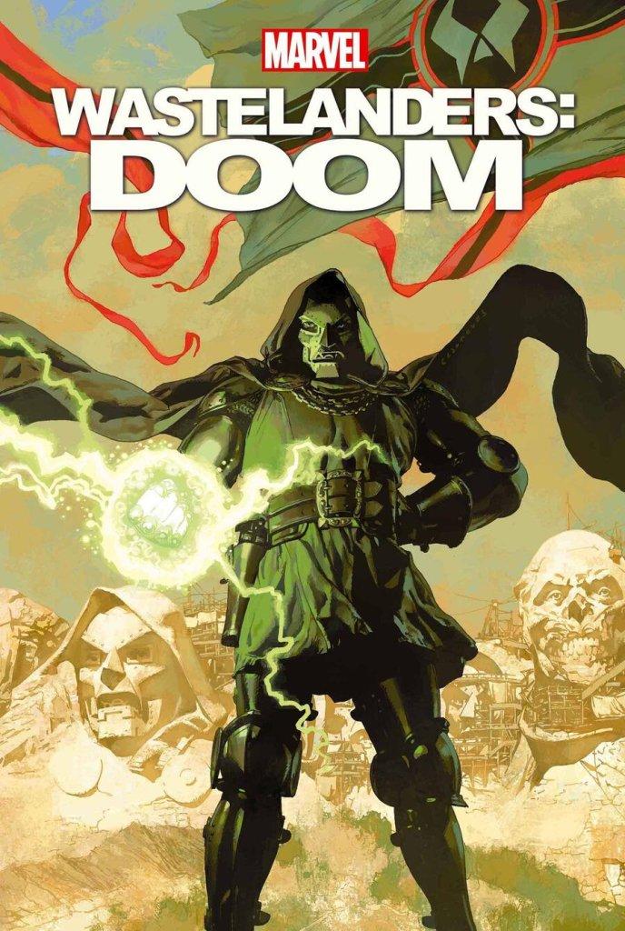 Wastelanders: Doom #1, copertina di Josemaria Casanovas