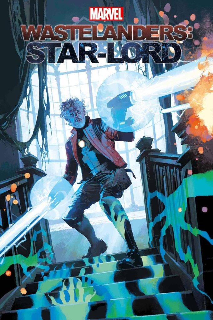 Wastelanders: Star-Lord #1, copertina di Josemaria Casanovas