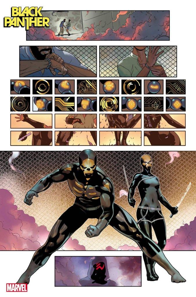 Black Panther #1, anteprima 04
