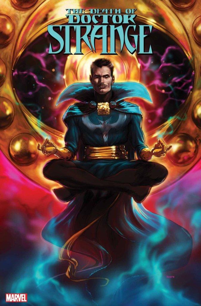 Death of Doctor Strange #4, copertina di Kaare Andrews