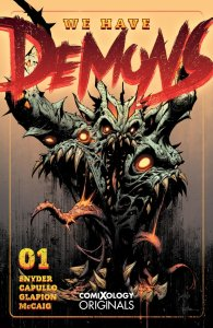 We Have Demons #1, copertina di Greg Capullo