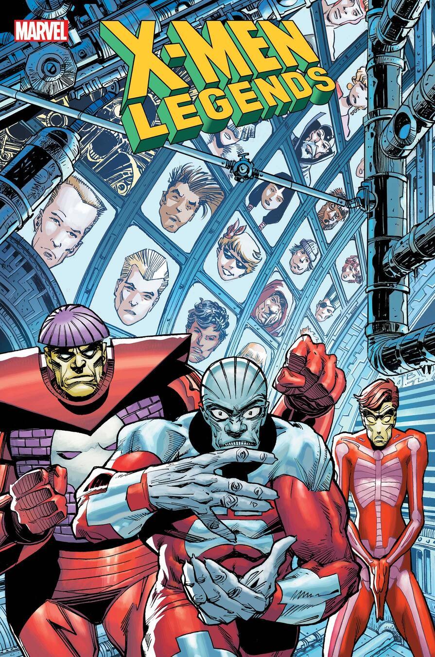 X-Men Legends #11, copertina di Walter Simonson