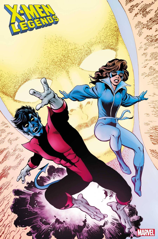 X-Men Legends #12, copertina di Alan Davis