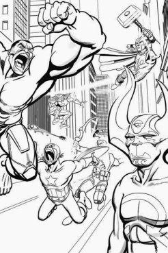 Avengers #5 Variant Daniele Caluri - BN