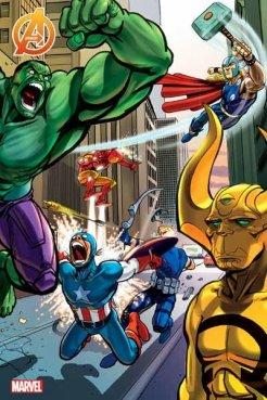 Avengers #5 Variant Daniele Caluri