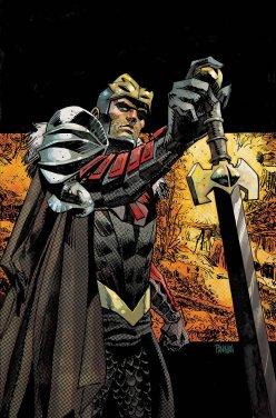 Black Knight #2, variant cover di Dan Panosian