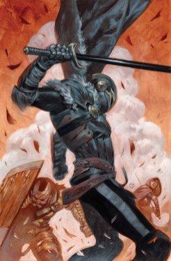 Black Knight #4, copertina di Julian Totino Tedesco