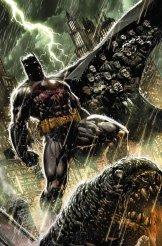 Batman: Eternal #1 cover di Jason Fabok