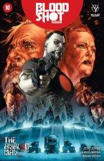 Bloodshot Reborn #10 - Cover LaRosa