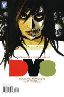 Dv8 #2 - Fiona Staples cover