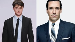 Daniel Radcliffe e Jon Hamm
