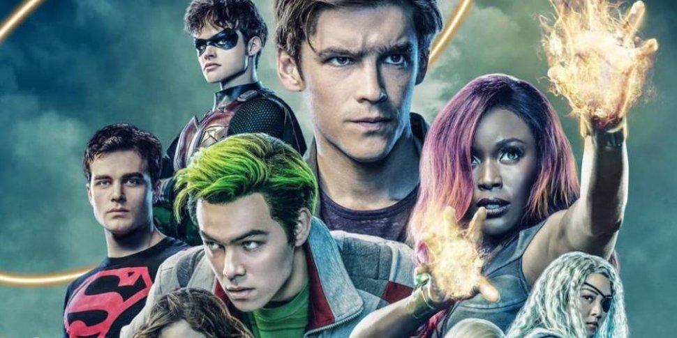 Titans 2 DC universe Brenton Thwaites è Dick Grayson, Teagan Crof è Raven, Anna Diop èStarfire, Ryan Potter èBeast Boy Curran Walters Jason Todd