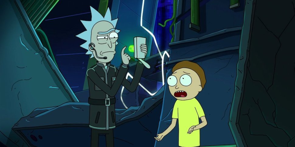 rick morty stagione 4