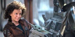 The Mandalorian Amy Sedaris Baby Yoda