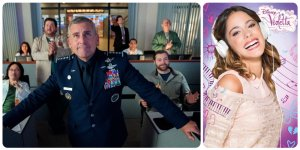 Disney Netflix Violetta Space Force Disney I Titoli del momento