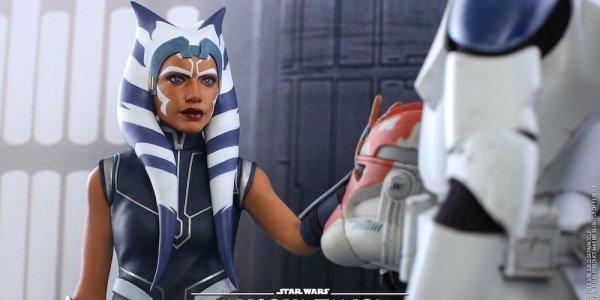 Ahsoka Tano Action figure Hot Toys Star Wars: The Clone Wars 2