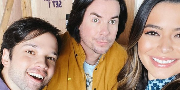 iCarly foto dal set revival