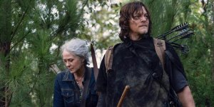 The Walking Dead - Melissa McBride e Norman Reedus