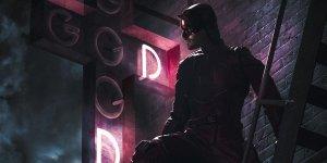 daredevil poster fanmade disney+ netflix