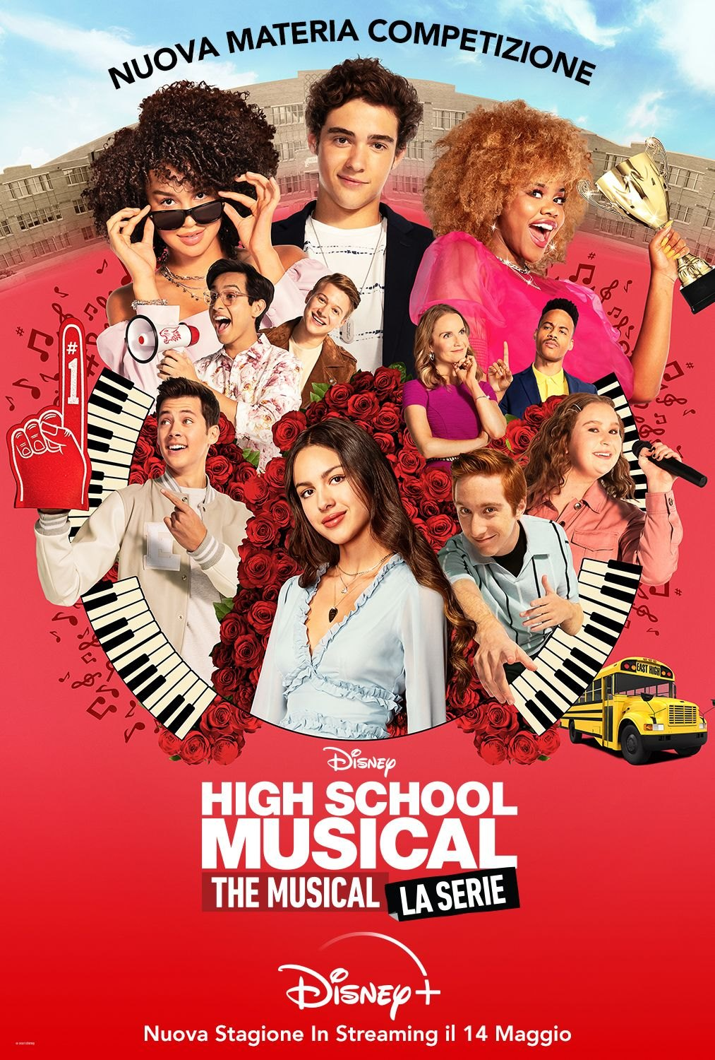 High School Musical The Musical La Serie - Poster Stagione 2