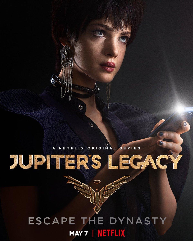 jupiter's legacy elena kampouris chloe