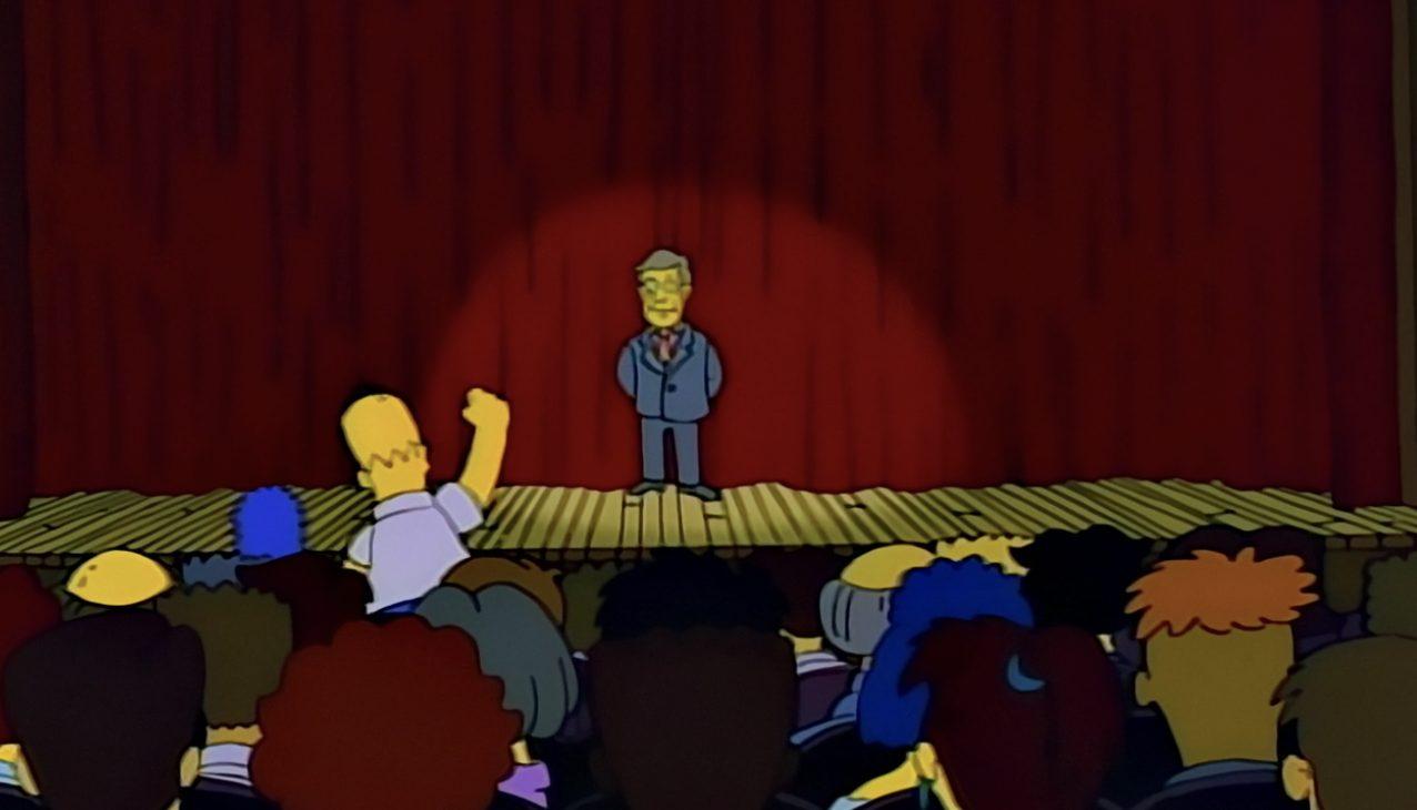 Simpson theatre Homer Skinner