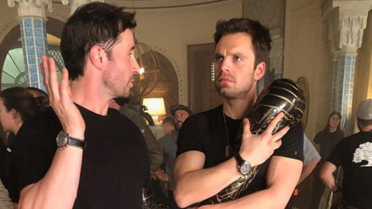 The Falcon and the Winter Soldier: Sebastian Stan condivide una foto che lo ritrae con la sua controfigura