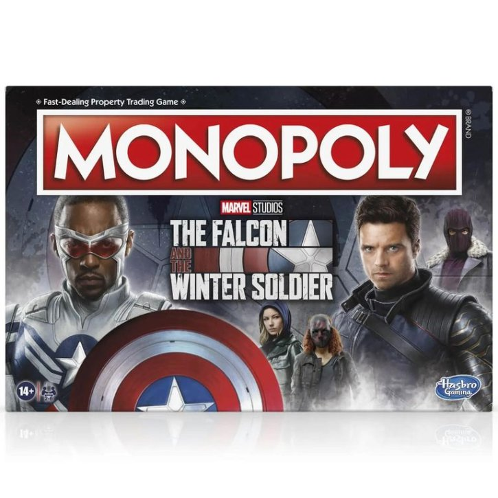 Disney Monopoly Falcon and the Winter Soldier