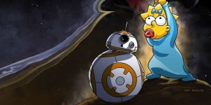 Simpson - Star Wars crossover