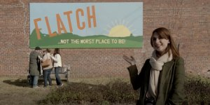 Welcome to the Flatch Aya Cash trailer serie FOX