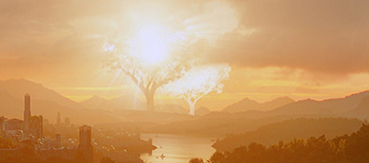 il signore degli anelli alberi valinor