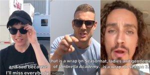 the umbrella academy terminate le riprese della terza stagione