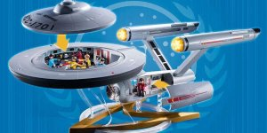 Star Trek U.S.S. Enterprise NCC-1701 playmobil set