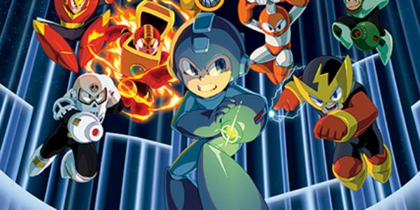 Mega Man Legacy Collection banner