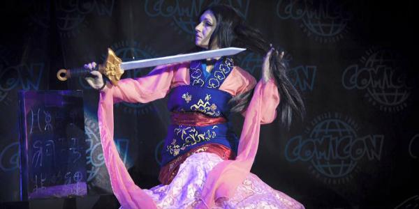 Banner Misa Cosplay Mulan Cmicon