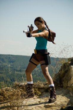 Cosplay Lara Croft