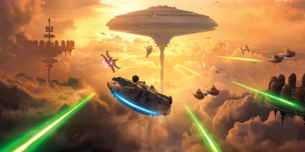 Star Wars Battlefront Bespin banner