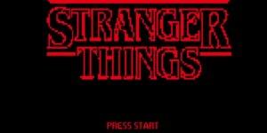 Stranger Things 8bit megaslide