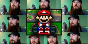 Smooth McGroove Super Mario Kart banner