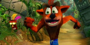 Crash BandicootN. Sane Trilogy megaslide