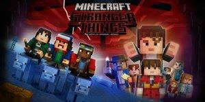 Minecraft Stranger Things banner