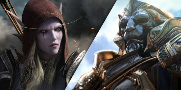 World of Warcraft Battle for Azeroth banner