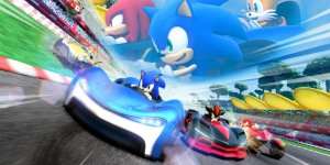 Team Sonic Racing banner megaslide