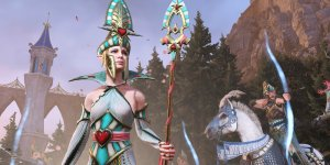 Total War: Warhammer II The Queen and the Crone banner megaslide