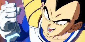 Dragon Ball FighterZ Vegeta megaslide