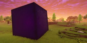 Fortnite cubo banner