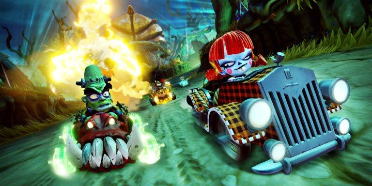Crash Team Racing Caccia ai fantasmi banner