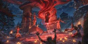 The Elders Scrolls Online Harrowstorm banner