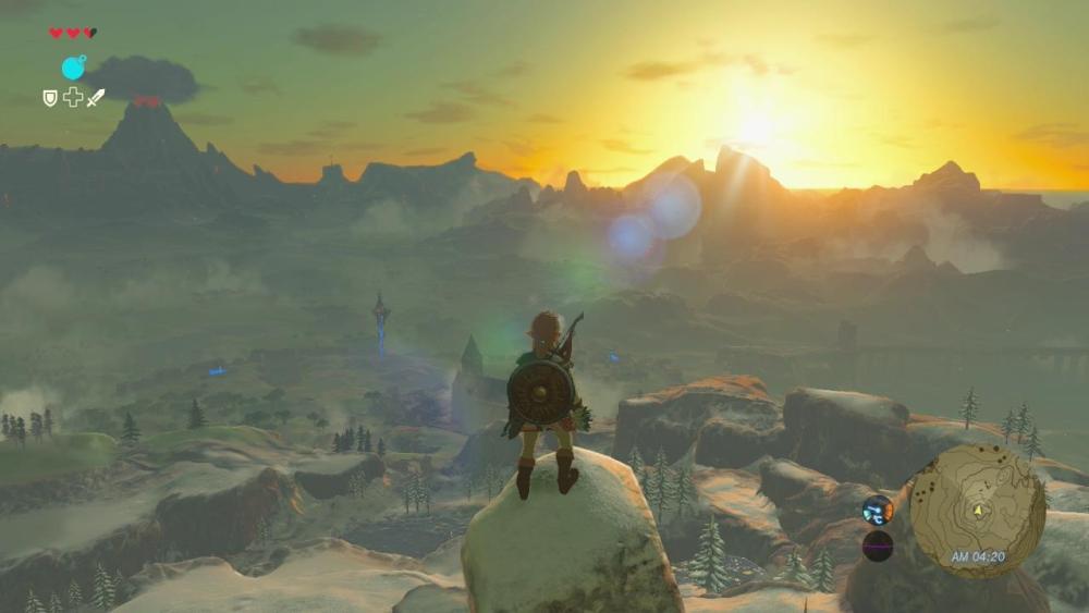 The Legend of Zelda Breath of the Wild screenshot