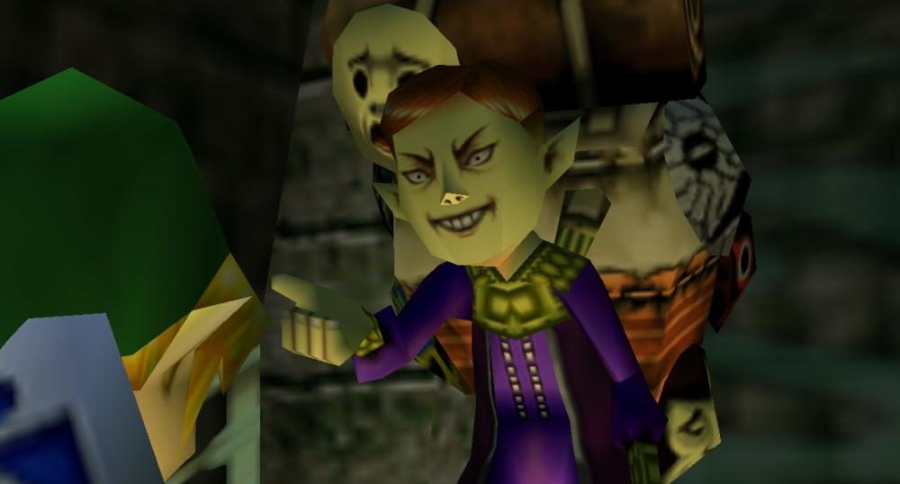The Legend of Zelda Majora's Mask screenshot